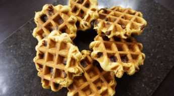 Choc Chip Waffle Cookies