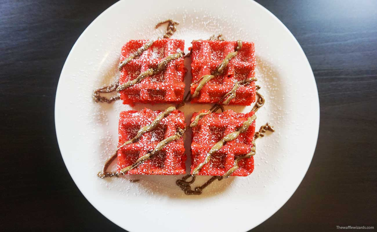 Turkish Delight Waffles