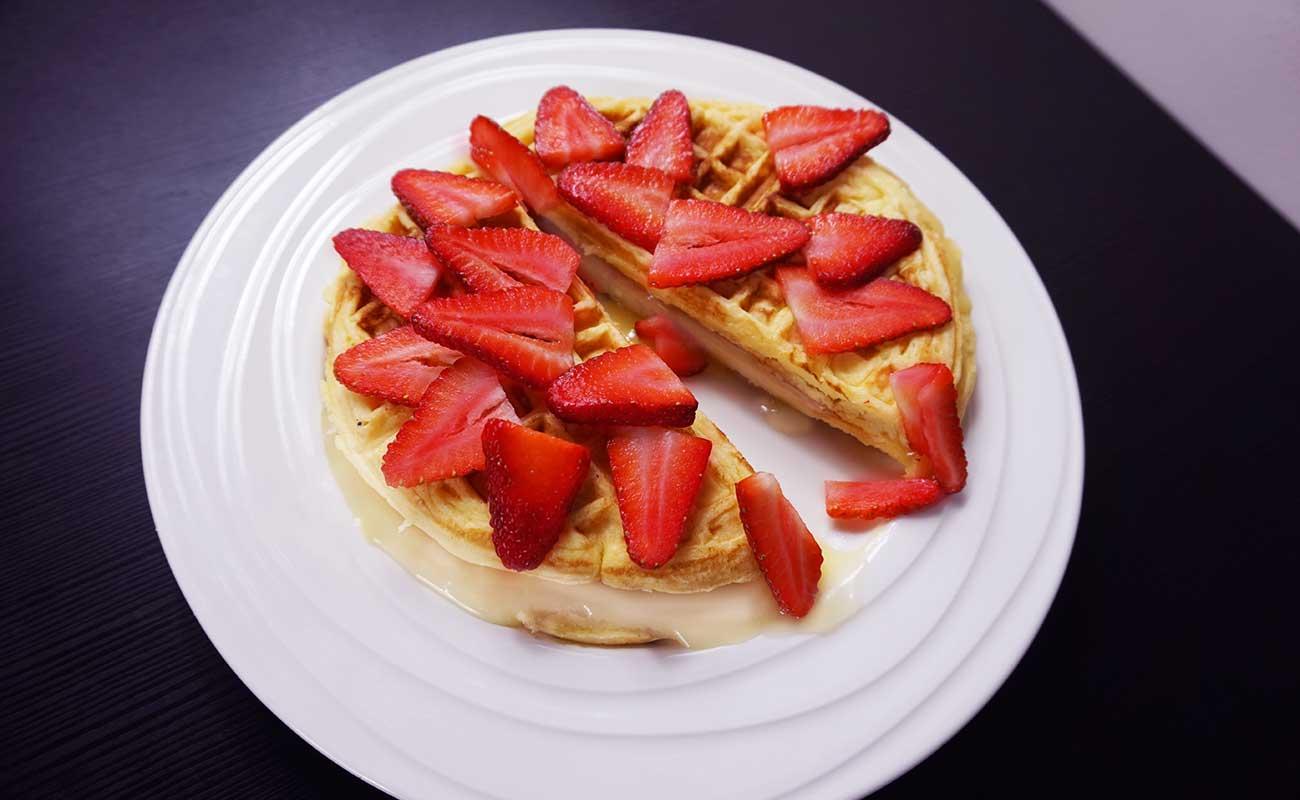 Cheesecake Waffle recipe