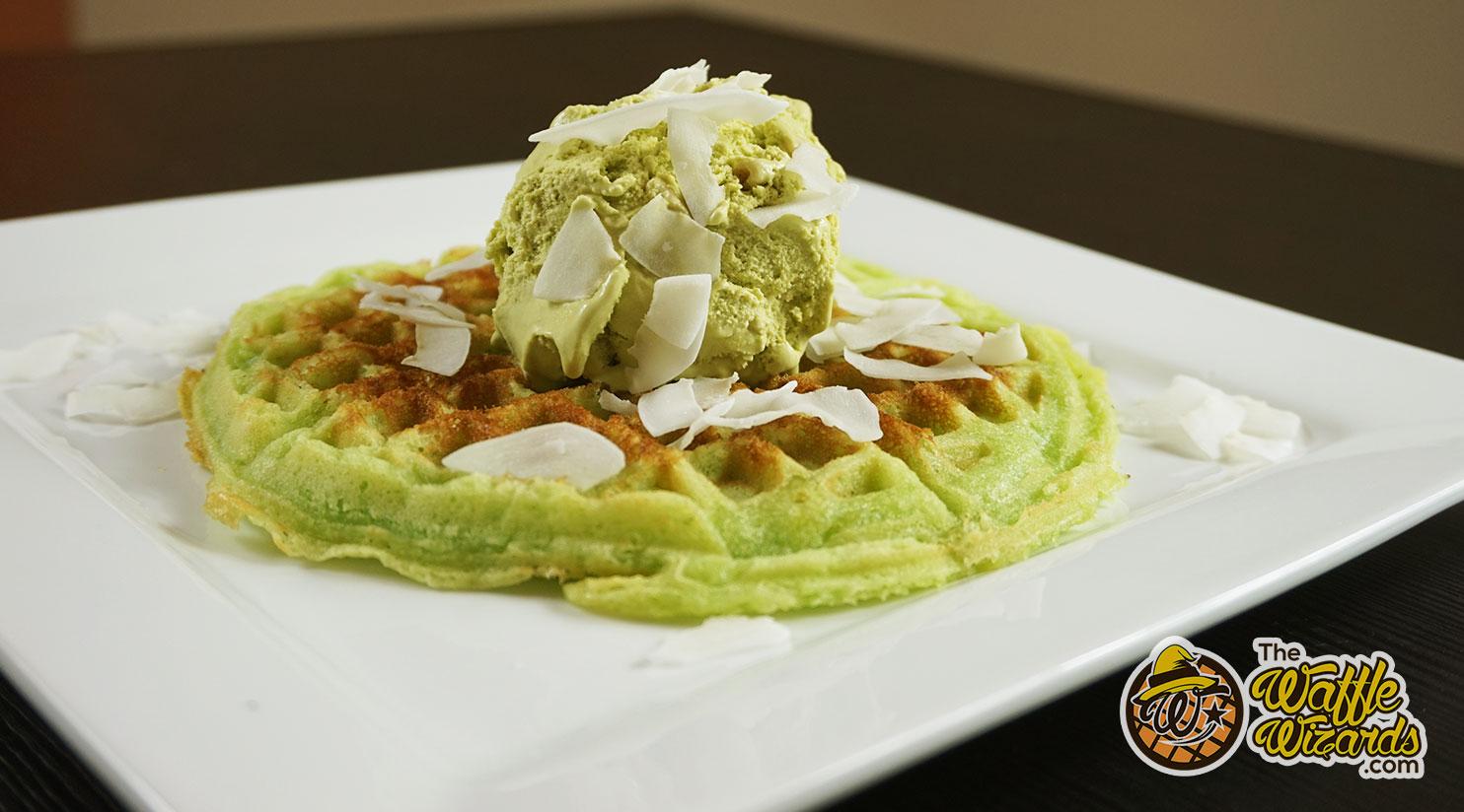 Pandan Waffle Recipe