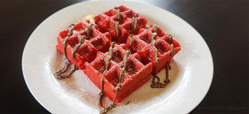 Turkish Delight Waffle